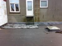 dakbedekking bijkeuken