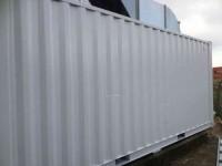 schilderwerk zeecontainer gereed